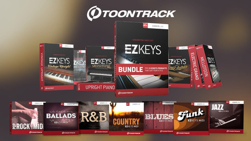 ezkeys full update+expansiones+packs midi | envío inmediato