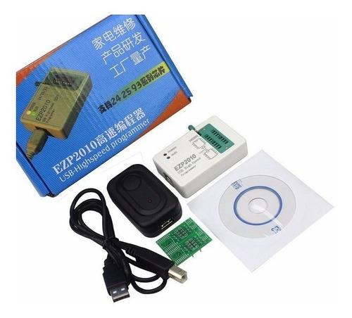 ezp2010 gravador eprom bios memória flash 24xx 25xx