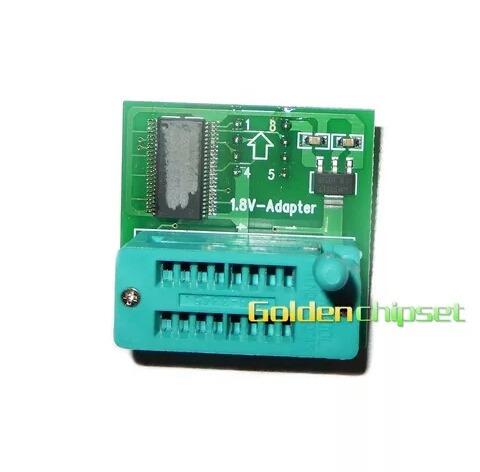 ezp2013 de alta velocidade programador+5 pcs adaptador +1.8v