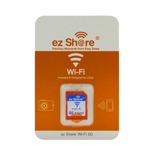 ezshare adaptador wi-fi suporta até 32 gb- pronta entrega