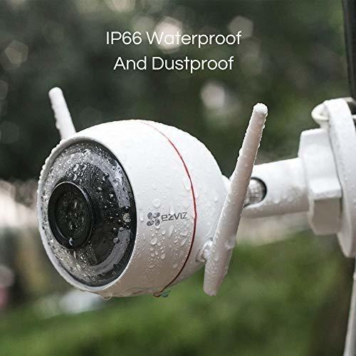 ezviz   cámara de seguridad para exteriores
