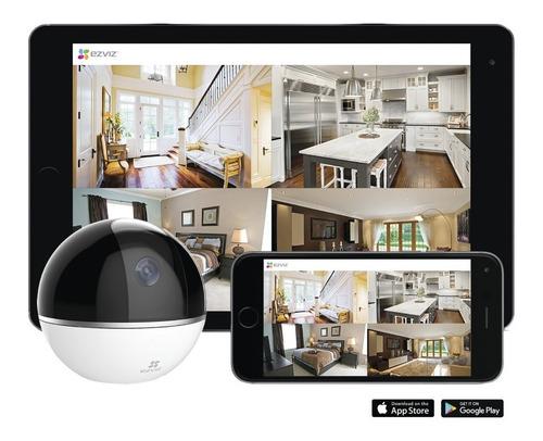ezviz mini camara ip pt 2 megapixeles 360°  hogar wifi