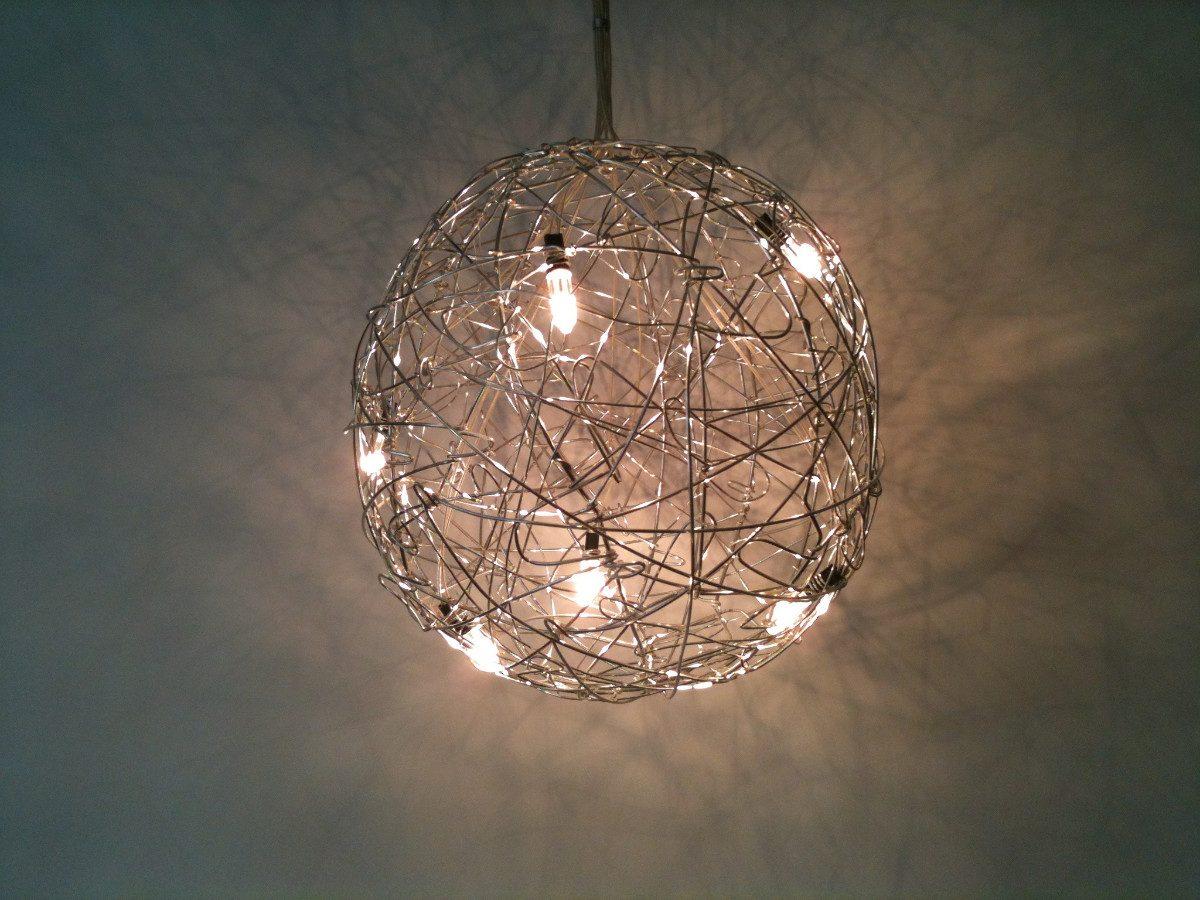 lamparas modernas de techo great lmpara lineal comedor On como hacer lamparas de techo modernas