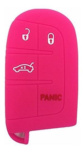 ezzy auto color 4 botones silicona llave fob caso cubierta c