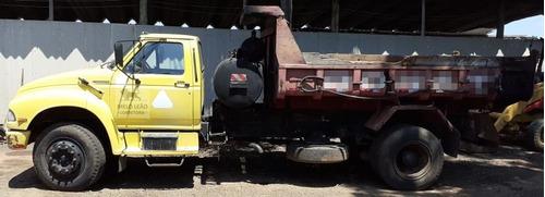 f-14000 hd - 94/95 - toco, caçamba 5m³,espargidor de asfalto
