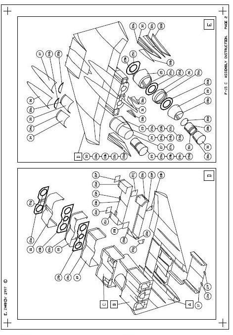 F 15 Eagle 132 Para Armar En Papermodel