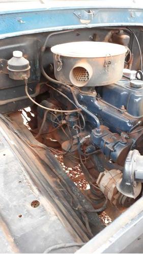f-600 - 76/76 - toco, munck p/ 3,5 toneladas, motor perkins*