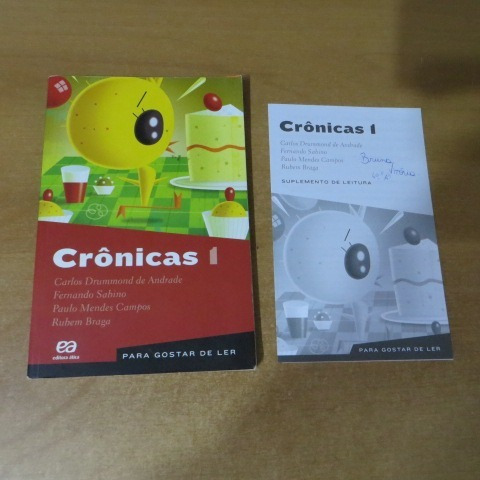 f-7livro - para gostar de ler - cronicas 1 carlos drummond