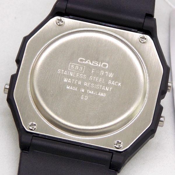 98f9953cd02 F-91w-1dg Relogio Casio Digital Retrô Vintage 100% Original - R  115 ...