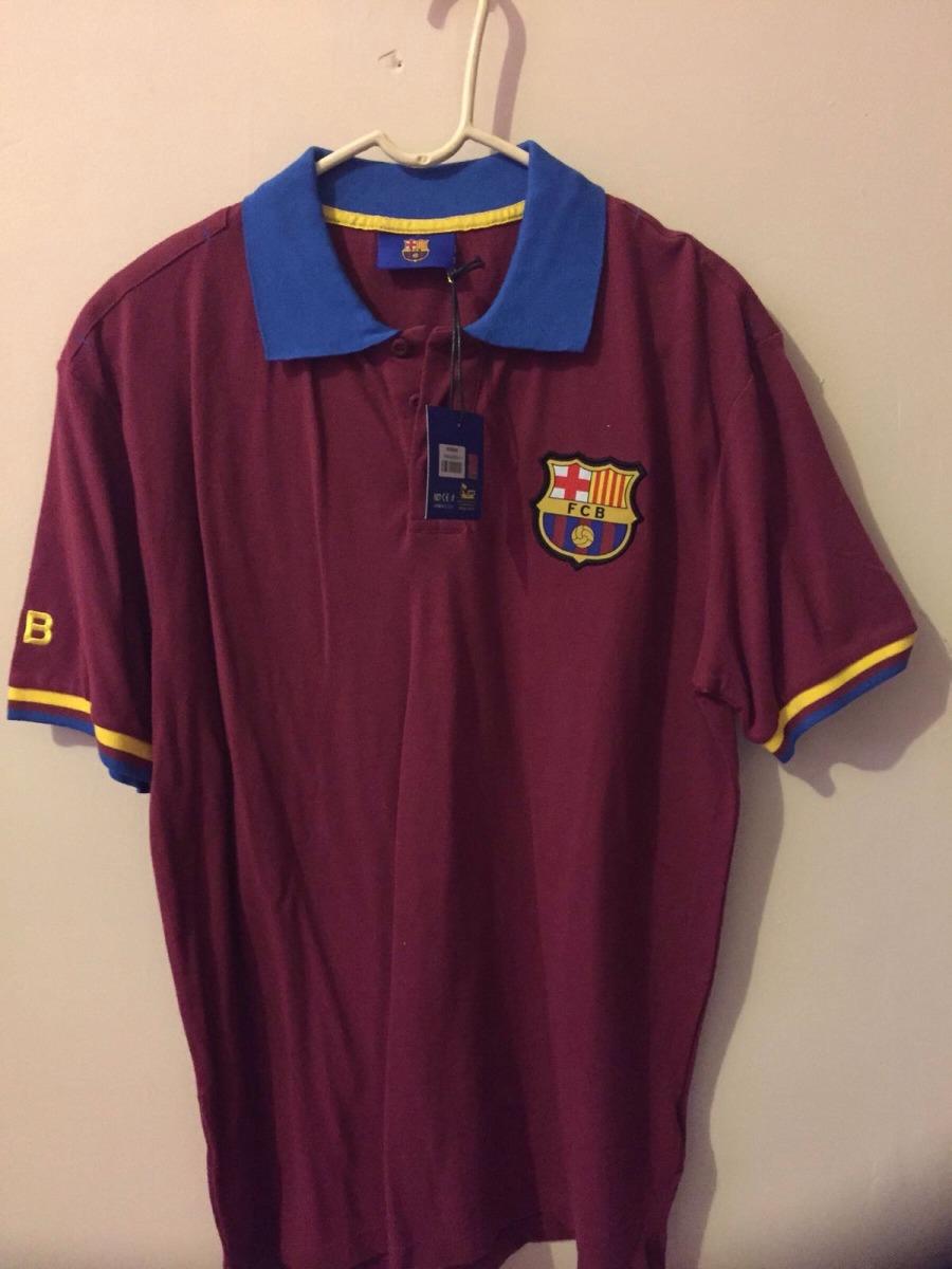 F C Barcelona Camiseta Polo Mercancía Oficial Xl -   250.00 en ... 1d7fd57d13764