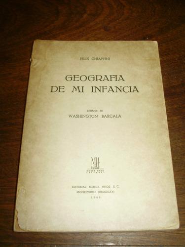 f. chiappini geografia de mi infancia mosca hnos. urug. 1945