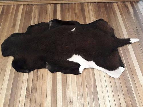 f & f- alfombras o pieles con pelo de distinto color borrego