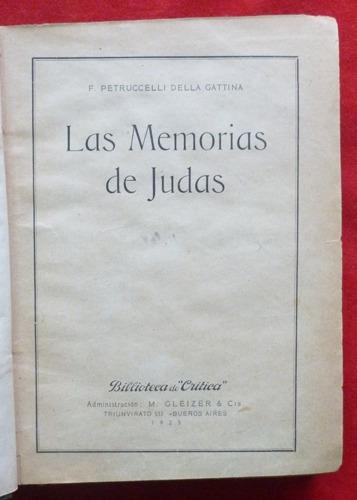 f. petruccelli della gattina las memorias de judas