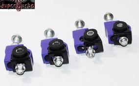 F/&R Camber kit SILVER for 88-95 Civic 88-91 CRX 93-97 Del Sol 94-01 Integra