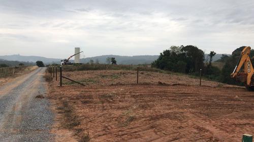 f terre 1.000 m2 20x50, com portaria sem taxa, 100% plaino