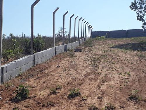 f. terrenos 100% plainos p/ para construir,com portaria!