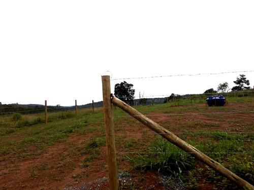 f. terrenos 1000 m² ruas limpas e com portaria por 25mil