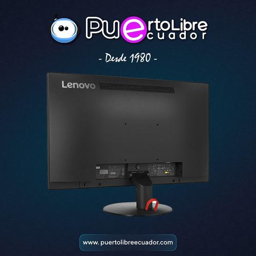 f u l l  h d monitor lenovo thinkvision 21.5 1080p ips nuevo