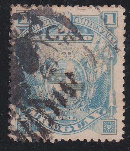 f- uruguay - 1894 - 1 peso # 96