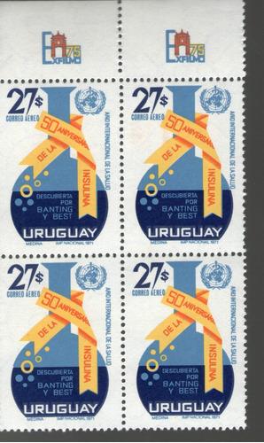 f- uruguay 1972 - cuadro mnh