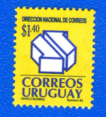 f- uruguay 1993 - direcc nacional de correos - scott #1452