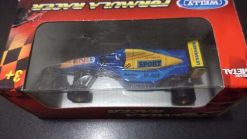 f1 1/43 de metal-ruedas de goma-con caja-oferta!