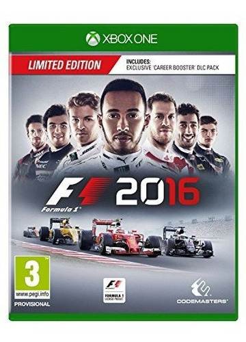 f1 2016 edicion limitada xbox one