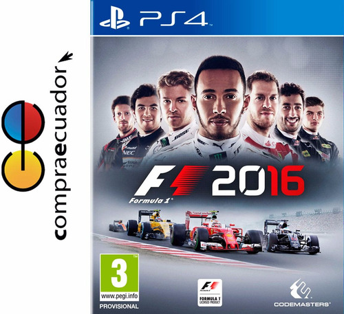 f1 2016 ps4 formula 1 2016 playstation 4 juego físico ps4