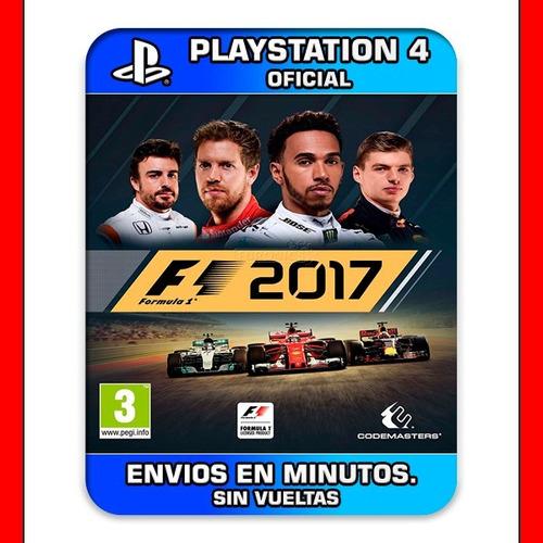 f1 2017 ps4 digital nº1 en ventas en argentina (cp)