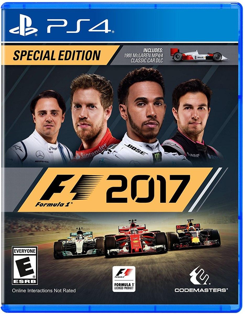 F1 2017 Special Edition Juegos Gratis Digital Para Ps4 U S 19 99