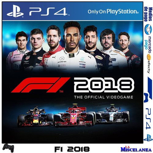f1 2018 ps4 digital | cupo principal