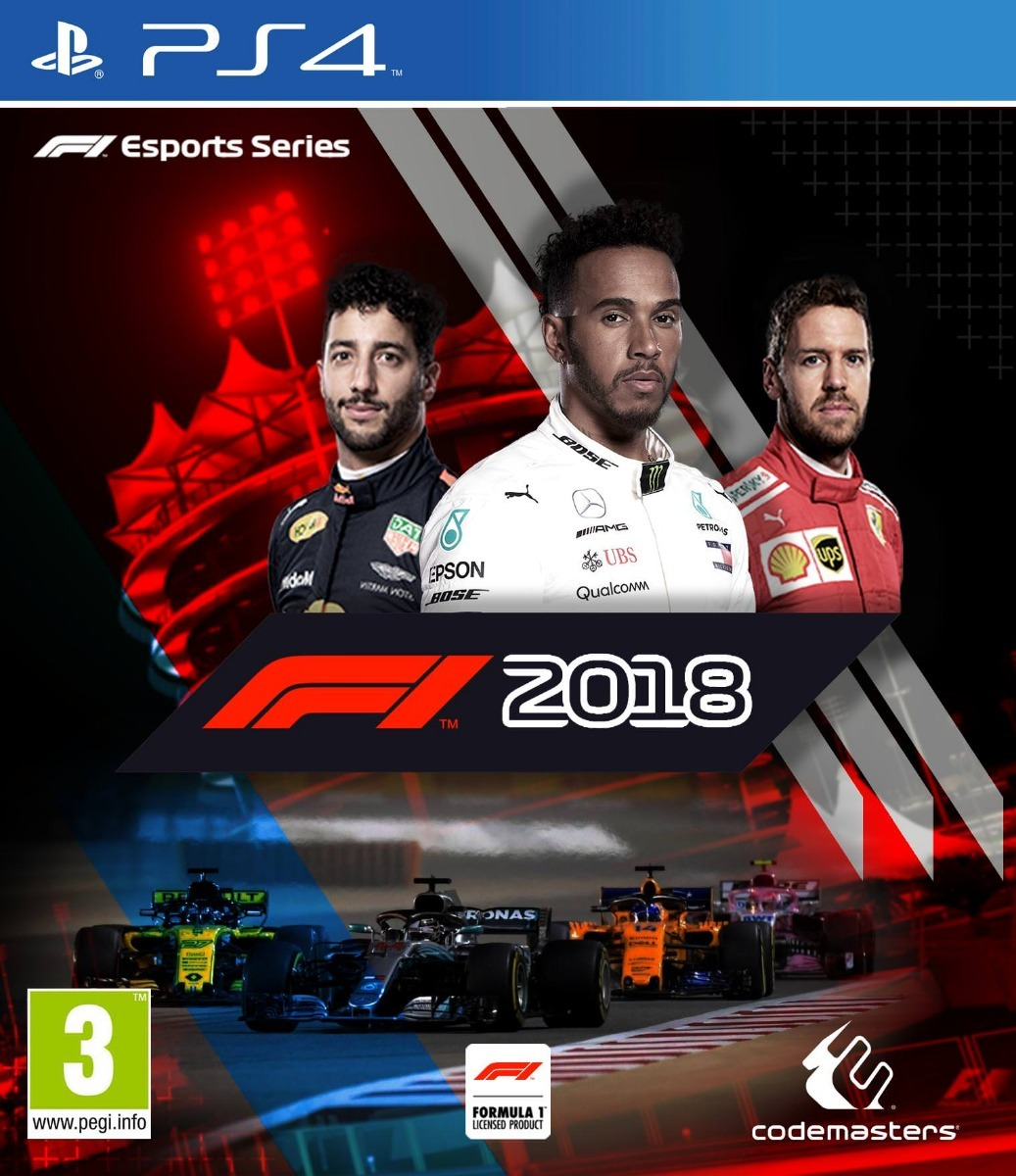 f1 2018 ps4 formula 1 2018 jogo m dia digital original 1. Black Bedroom Furniture Sets. Home Design Ideas