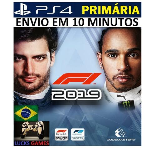 f1 2019 | formula 1 2019 ps4 - original 1 - português