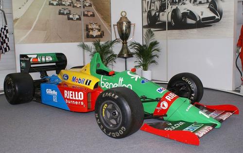 f1 benetton ford - #20. gran prix burago 1/24. impecable