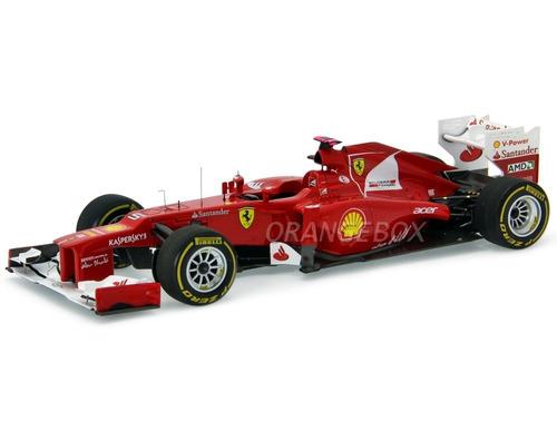 f1 ferrari fer alonso malaysia gp 2012 hot wheels 1:18 x5484