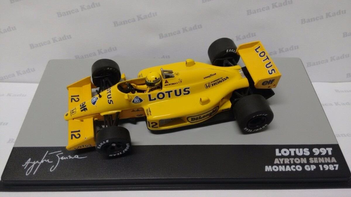 817636e922d0 F1 - Lendas - Ayrton Senna Lotus 99t - 1 43 - Ixo + Revista - R  64 ...