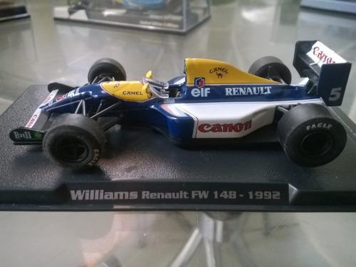 f1 nigel mansell 1992 williams fw14b 1/43