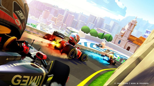 f1 race stars, baches y cachivaches + 2 xbox 360 original
