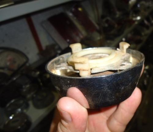 f100 acrilico do botão de buzina volante ford luxo original