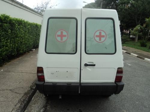 f1000 fiorino trafic veraneio ambulancia rontan
