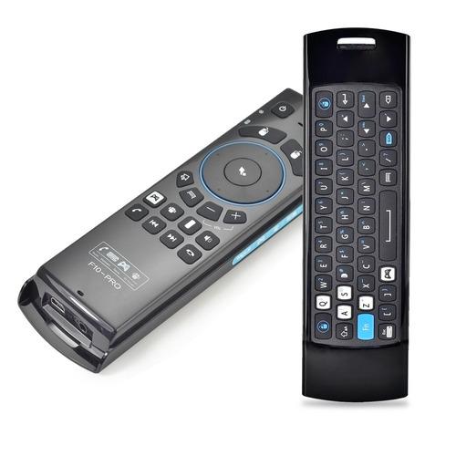 f10pro airmouse,teclado,microfono y altavoces incorporado