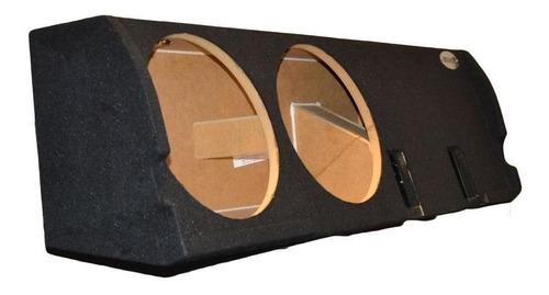 f150 supercrew cabina doble 12'' subwoofer caja sub caj-9919
