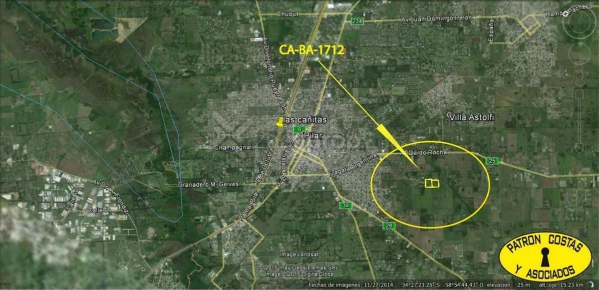 f1674-hp-racion de terreno 4.5 + 4.26 ha ruta 28 pilar