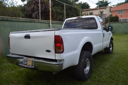 f250 ford branco 4x4 - 4 cilindros