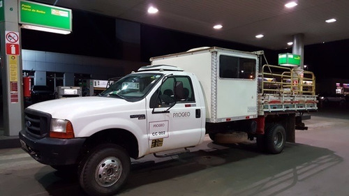 f4000 ford 4x4 ano 2006 cabine suplementar real 8 passageiro