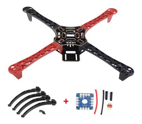 f450 drone con cámara flamewheel kit 450 marco para rc mk m