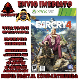 F4r Cry4® Xbox 360 - Midia Digital Compartilhada