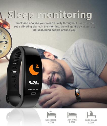 f64hr pulseira inteligente smartband id107+01 pulseira extra