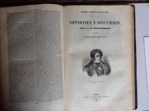 f.a. de chateaubriand los cuatro estuardos y mastitulos1854