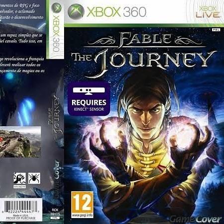 fable: the journey (jogo gravado)  - xbox 360